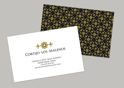 Cortijo Los Malenos - business card_TH